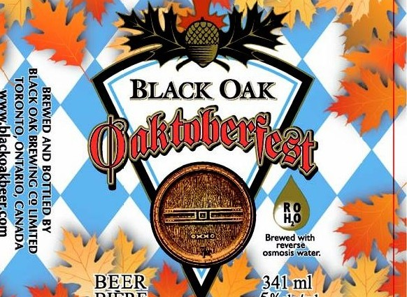 Black Oak's Oaktoberfest Lager available now