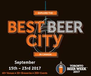 Toronto Beer Week – Sidebar