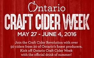 Ontario Craft Cider Week