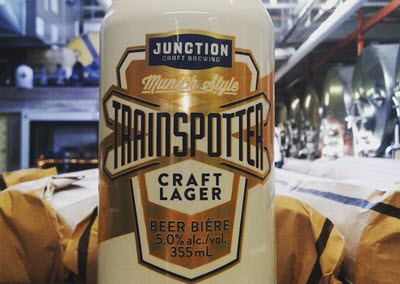 junction and wellington release helles lagers in 355ml cans ontario beverage network. Black Bedroom Furniture Sets. Home Design Ideas